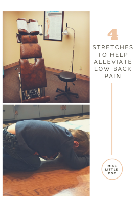 4 Stretches To Help Alleviate Low Back Pain